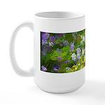 Maine Impasto WIldflowers Large Mug
