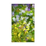Maine Impasto WIldflower Sticker (Rectangle 10 pk)