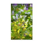 Maine Impasto WIldflowers Rectangle Car Magnet