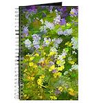 Maine Impasto WIldflowers Journal