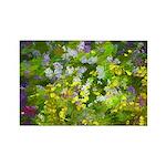 Maine Impasto WIldflow Rectangle Magnet (100 pack)