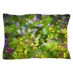 Maine Impasto WIldflowers Pillow Case