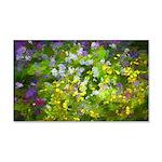Maine Impasto WIldflowers 20x12 Wall Decal