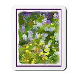 Maine Impasto WIldflowers Mousepad