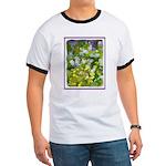Maine Impasto WIldflowers Ringer T