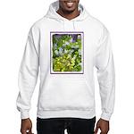 Maine Impasto WIldflowers Hooded Sweatshirt