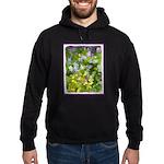 Maine Impasto WIldflowers Hoodie (dark)