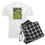 Maine Impasto WIldflowers Men's Light Pajamas