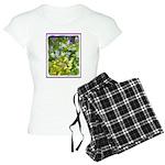 Maine Impasto WIldflowers Women's Light Pajamas