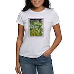 Maine Impasto WIldflowers Women's T-Shirt