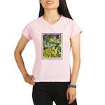 Maine Impasto WIldflowers Performance Dry T-Shirt