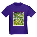Maine Impasto WIldflowers Kids Dark T-Shirt