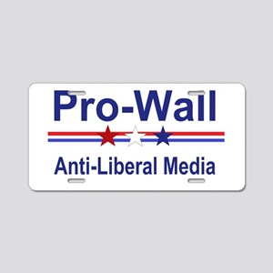 Pro Wall Aluminum License Plate