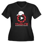 1Radio.FM - Dark Logo Plus Size T-Shirt