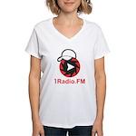 1Radio.FM - Dark Logo T-Shirt
