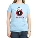 1Radio.FM - Dark Logo T-Shirt