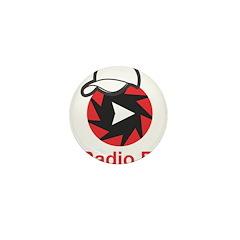 1Radio.FM - Dark Logo Mini Button