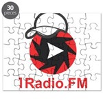 1Radio.FM - Dark Logo Puzzle