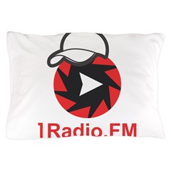 1Radio.FM - Dark Logo Pillow Case