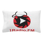 1Radio.FM - Dark Logo Pillow Case