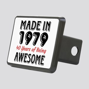 Made In 1977 40 Years of B Rectangular Hitch Cover