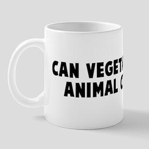 Can vegetarians eat animal cr Mug