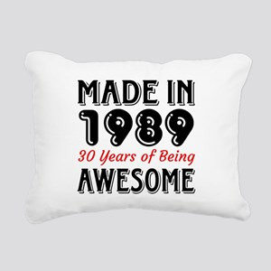 Made In 1987 30 Years of Rectangular Canvas Pillow