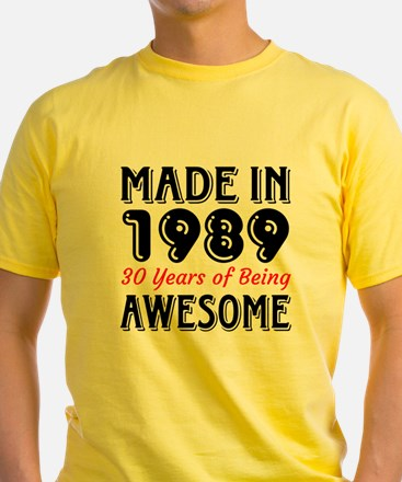 Made In 1987 30 Years of Being Awes T