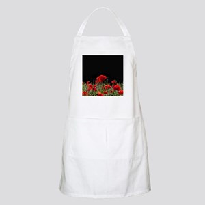 Red Poppies in bright sunlight Apron