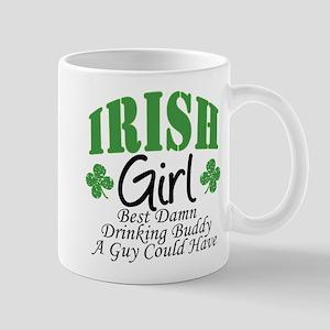 Irish Girl Drinking Buddy Mug