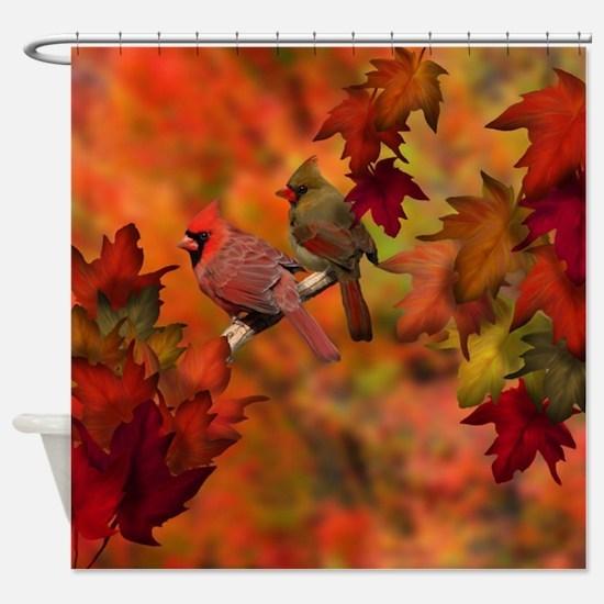 Cardinal Refuge Shower Curtain