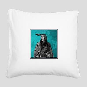 BRAVE Square Canvas Pillow