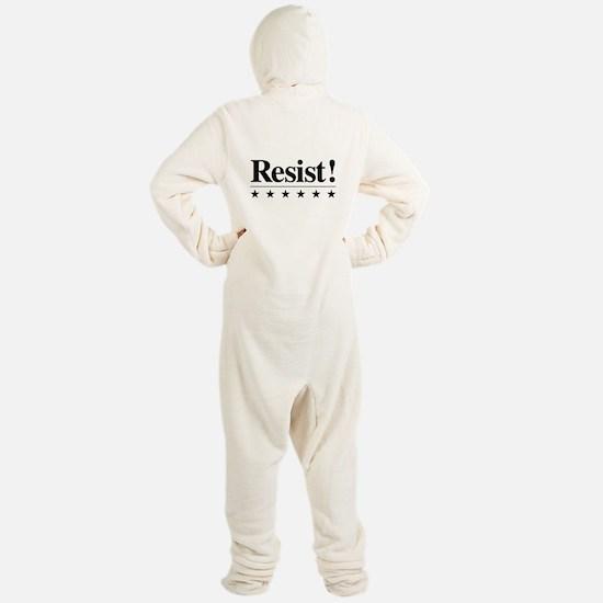 Resist Footed Pajamas