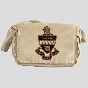 Kappa Alpha Theta Crest Messenger Bag