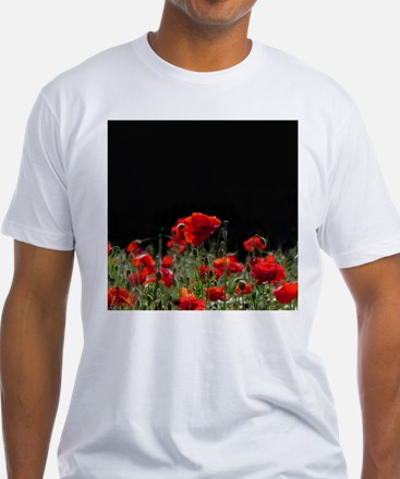 Red Poppies in bright sunlight T-Shirt