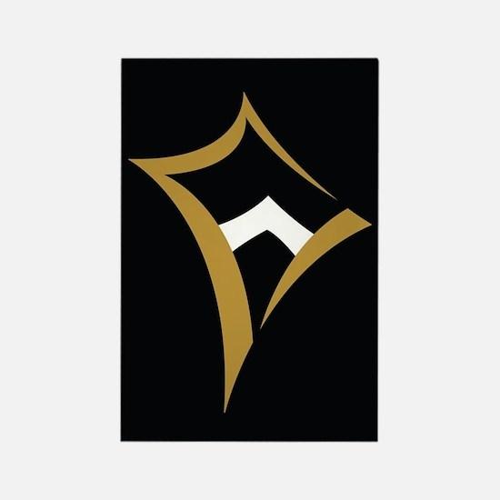 Kappa Alpha Theta Logo Rectangle Magnet