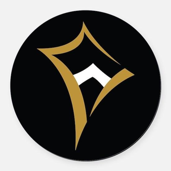 Kappa Alpha Theta Logo Round Car Magnet
