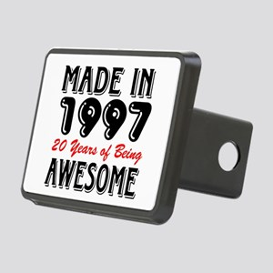 Made In 1997 20 Years of B Rectangular Hitch Cover