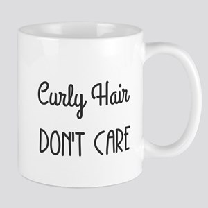 Curly Hair Don't Care Mugs