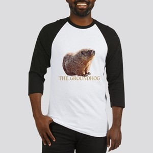RESPECT the groundhogDARK SHIRT Baseball Jersey