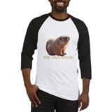 Groundhog day Baseball Tees