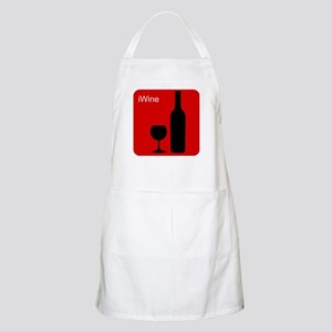 iWine Red BBQ Apron