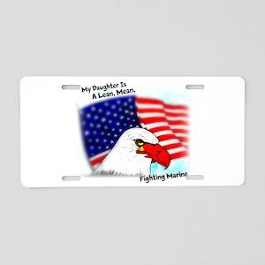 Marine Daughter Aluminum License Plate