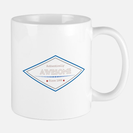 Authentically Awesome Since 1986 Mugs