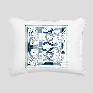Monogram-Lindsay dress Rectangular Canvas Pillow