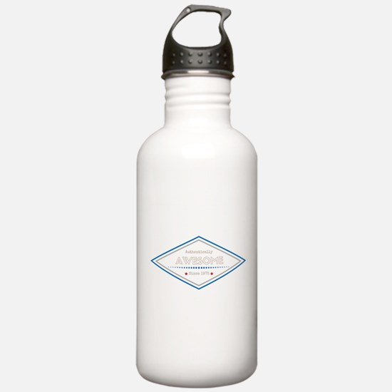 Authentically Awesome Water Bottle
