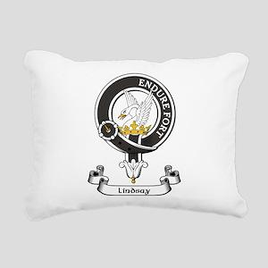 Badge - Lindsay Rectangular Canvas Pillow