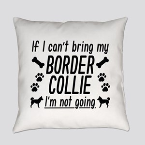 Border Collie Everyday Pillow