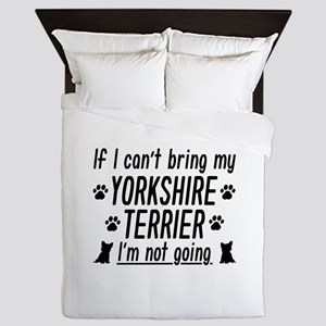 Yorkshire Terrier Queen Duvet