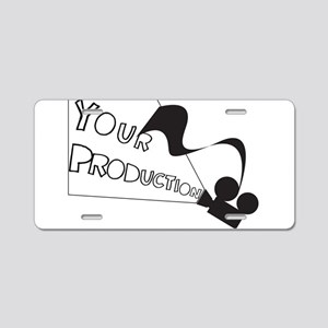 Projector Your Production Aluminum License Plate